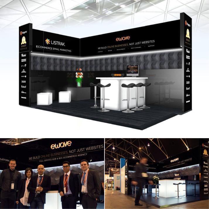 Custom Exhibtion Stand Turnkey Solution Design Sydney Dubai