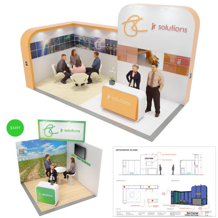 Custom Exhibtion Stand Turnkey Solution Design Sydney Dubai